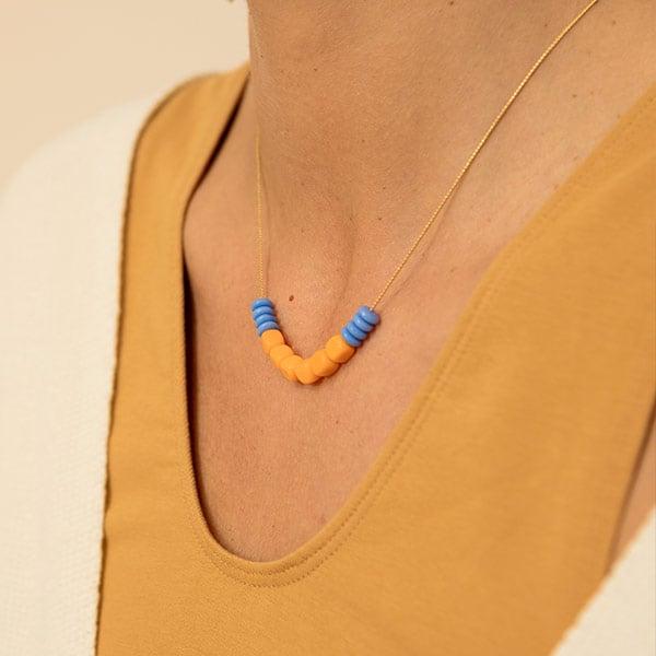 Collar Mandarino - Srta.Bolitas