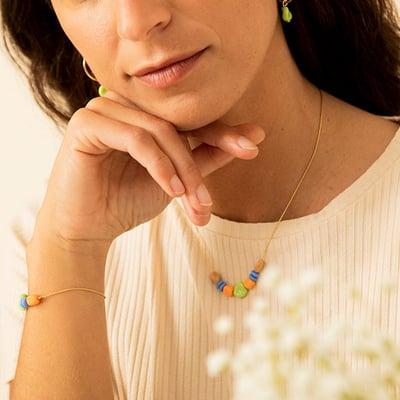 Collar Semilla - Srta.Bolitas