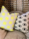 Neon lines pillow cover