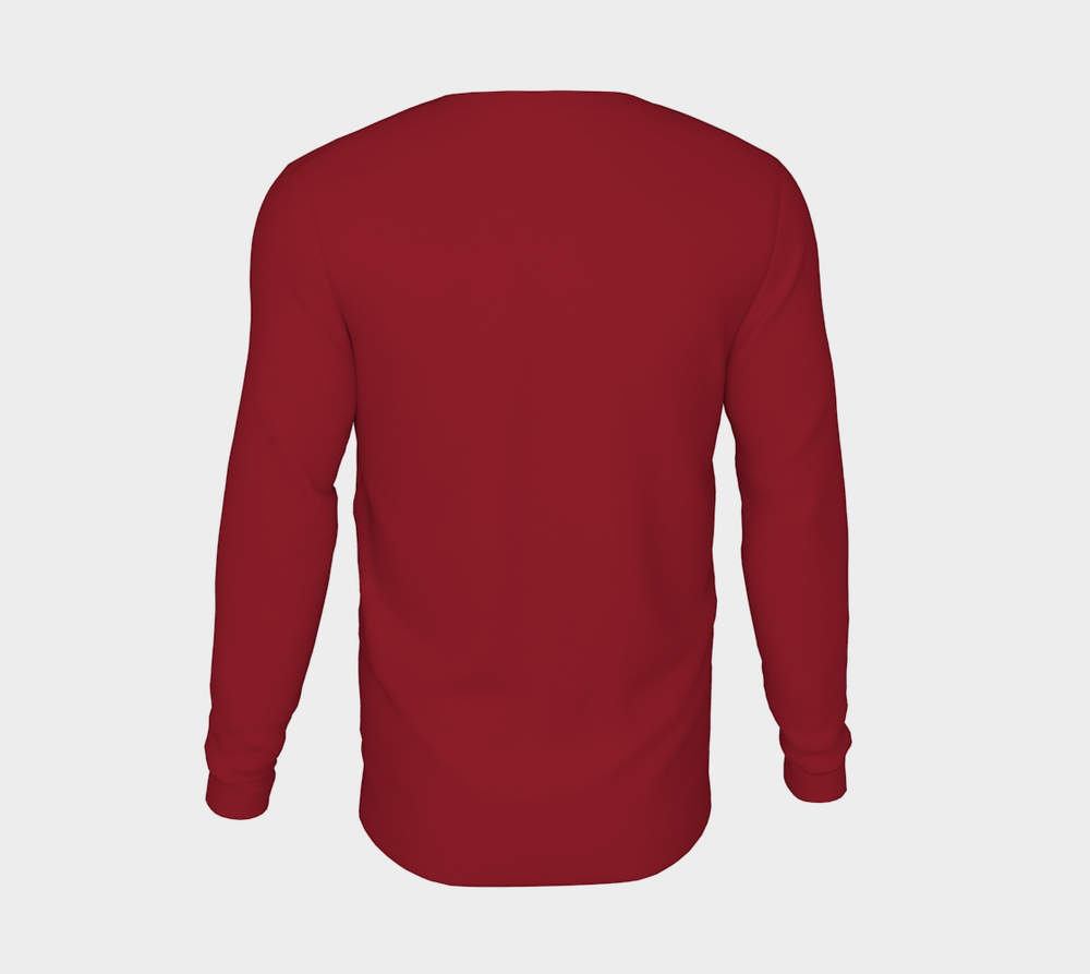 THE WEATHER ACOLYTE'S LONG SLEEVE: RED