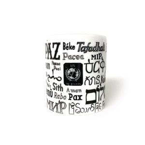 Image of United Nations 'Peace' Mug