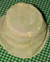 BUCKET HAT transparent yellow