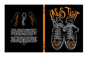 """Image of """"Laces Tight"""" poetry by Kurt Boone  HARDCOVER"""
