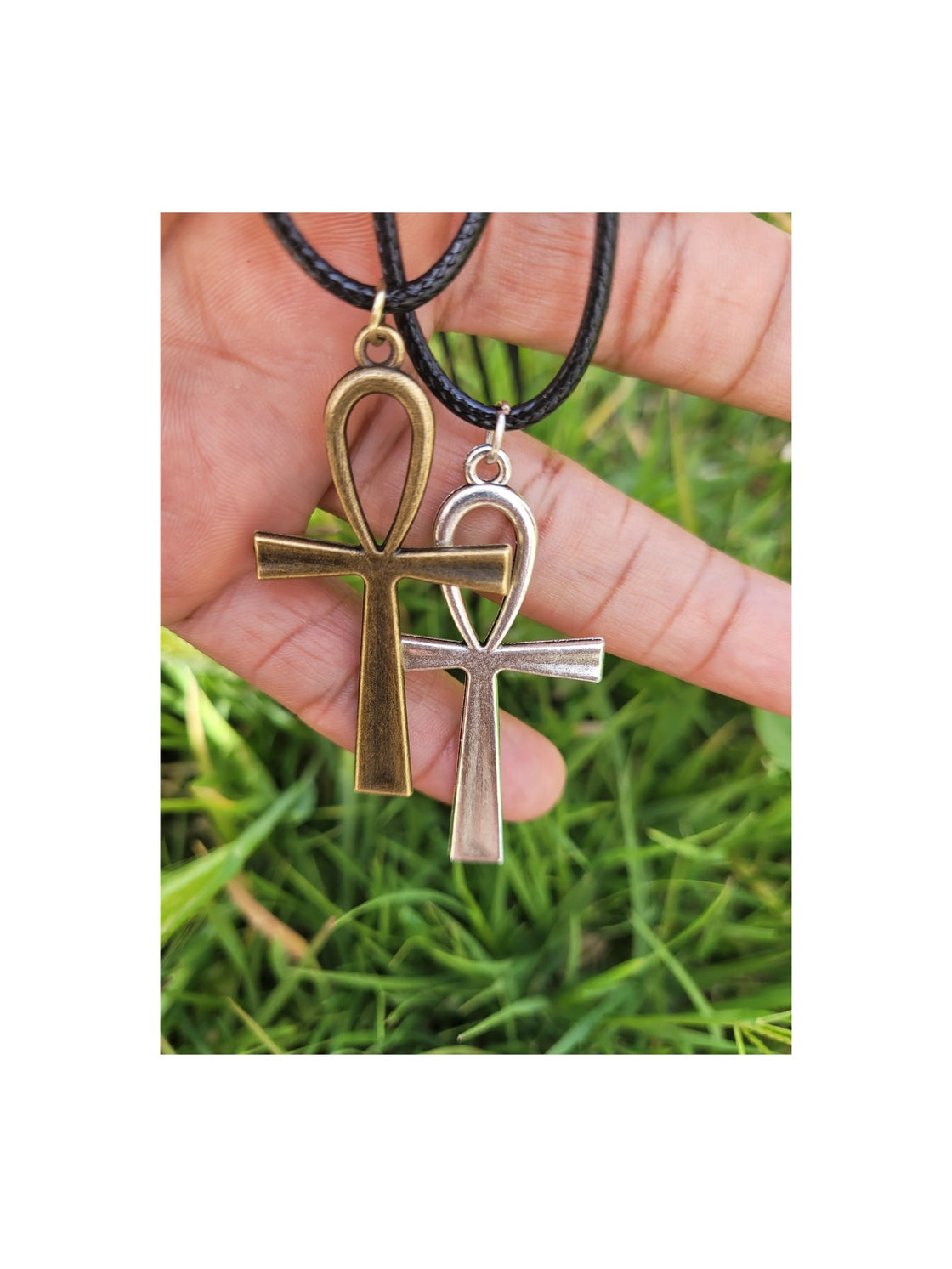 Image of Ankh Cross Necklace