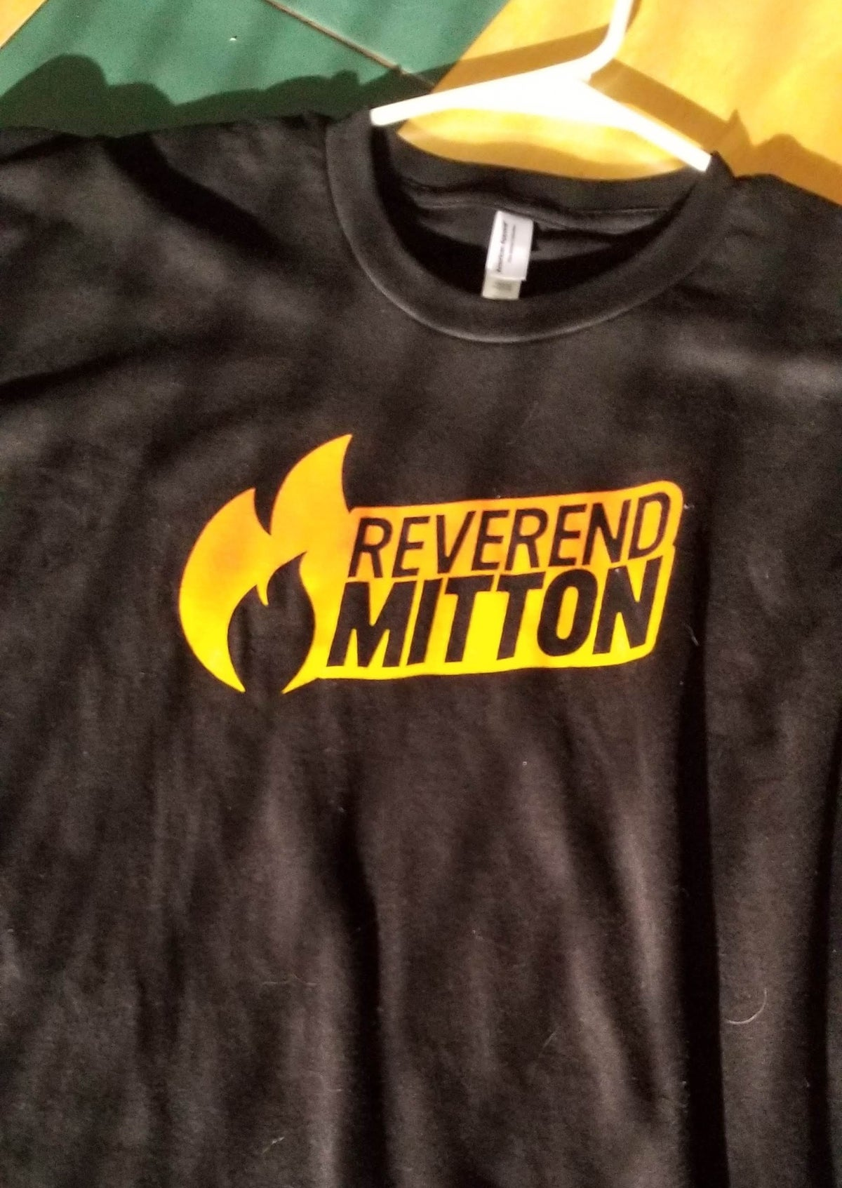 Reverend Mitton Flame Tee