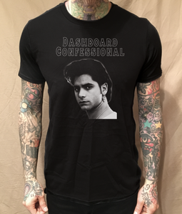 Image of STAMOS CONFESSIONAL BLACK TEE