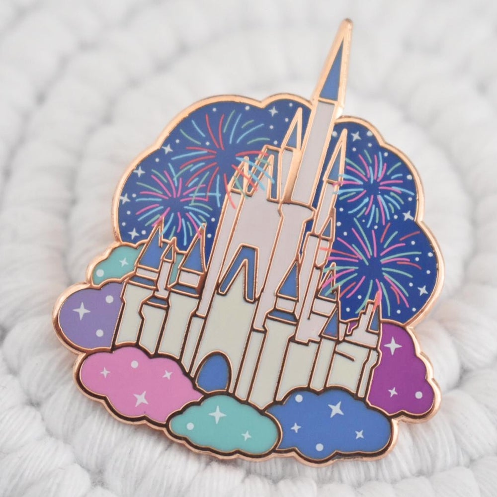 Image of Happily Ever After Fireworks pin
