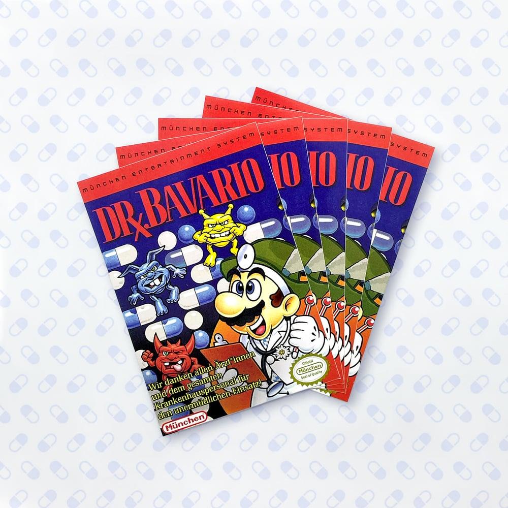 Image of Dr. Bavario Spenden Sticker