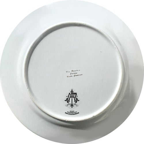 Image of Jareth the Goblin King - Labyrinth-  Vintage English fine china Plate - UNIQUE PLATE- #0757