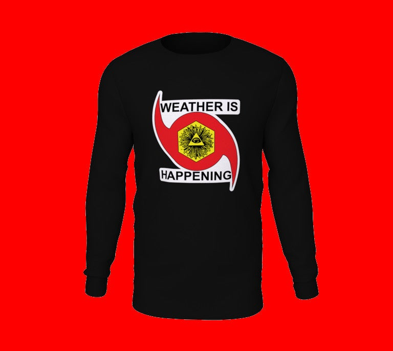 THE WEATHER ACOLYTE'S LONG SLEEVE: BLACK