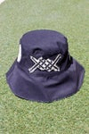 biggest thing out bucket hat in black