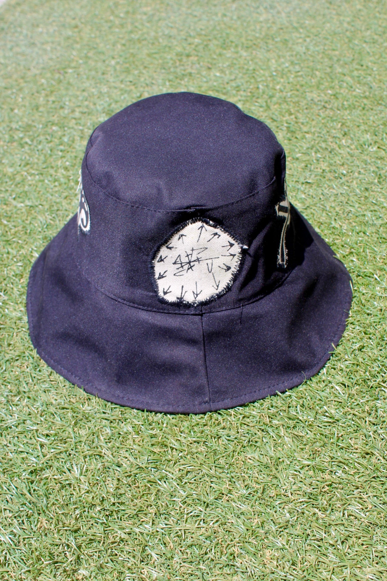 Image of biggest thing out bucket hat in black
