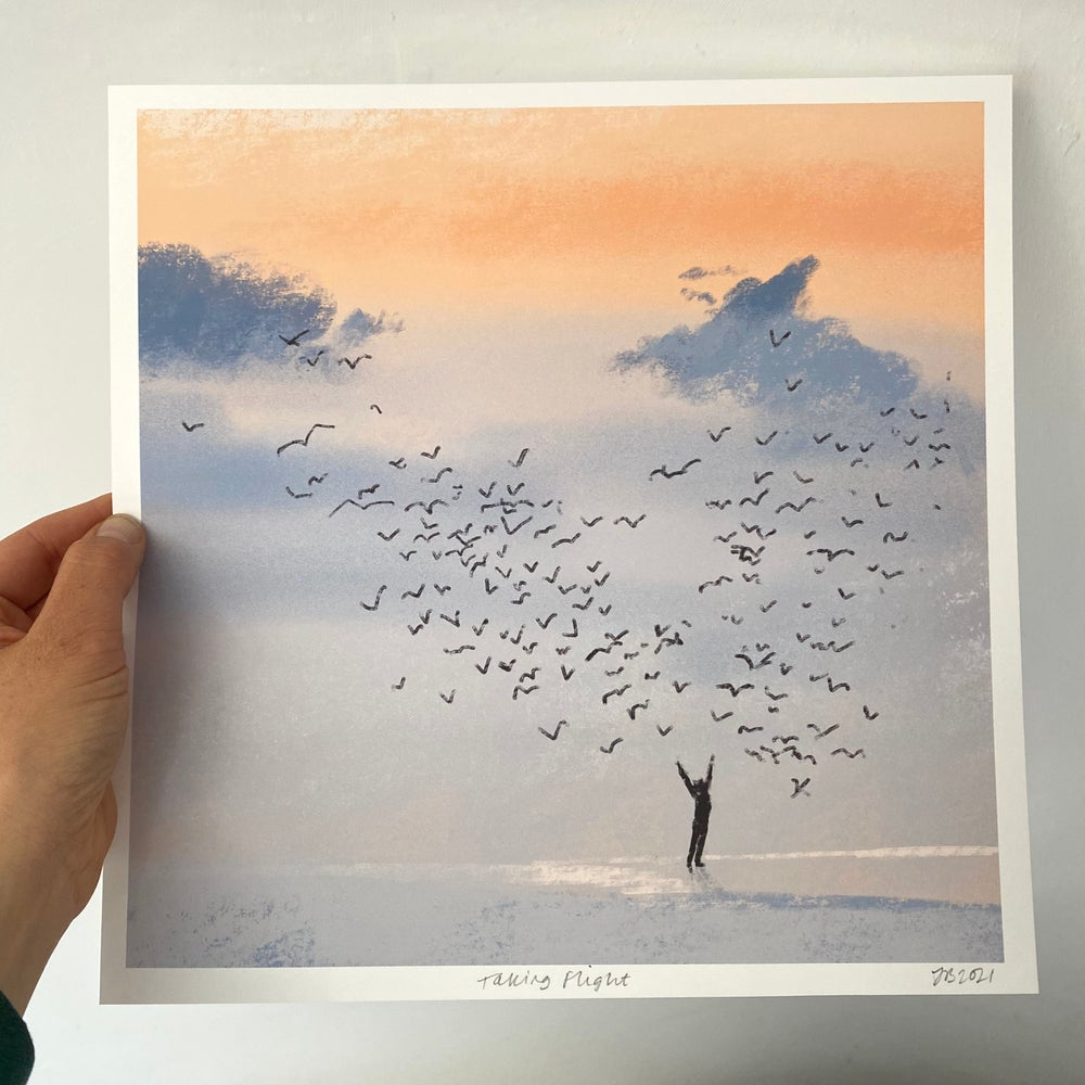 Image of 'Taking Flight' Archive Quality Print