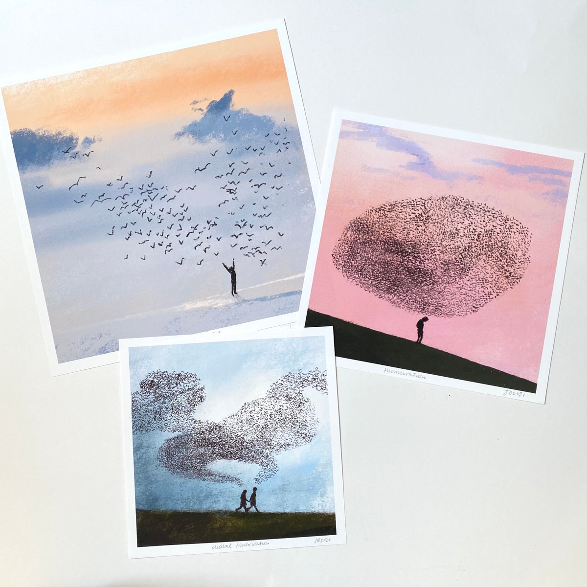 Image of 'Murmuration' Archive Quality Print