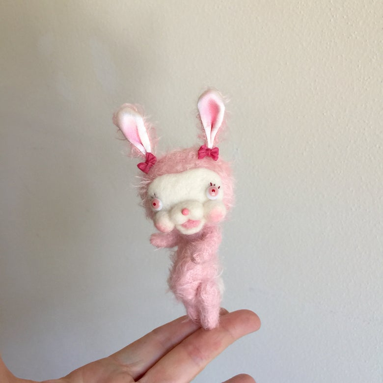Image of Pippa the Mohair Bunny