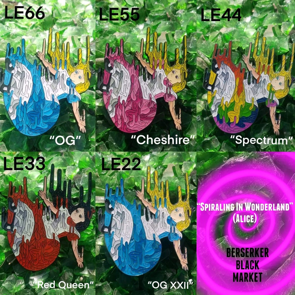 """Spiraling In Wonderland"" (Alice) Blind Bags"