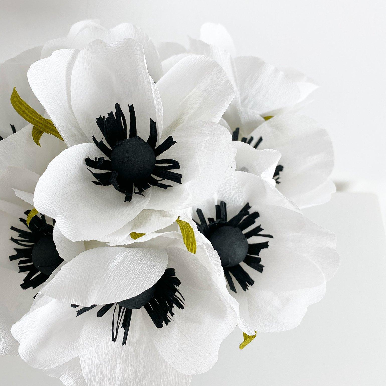 Image of Fiori di carta - bouquet anemoni