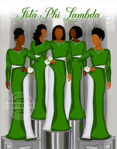 Image of Ladies Stepping Out (Iota Phi Lambda)