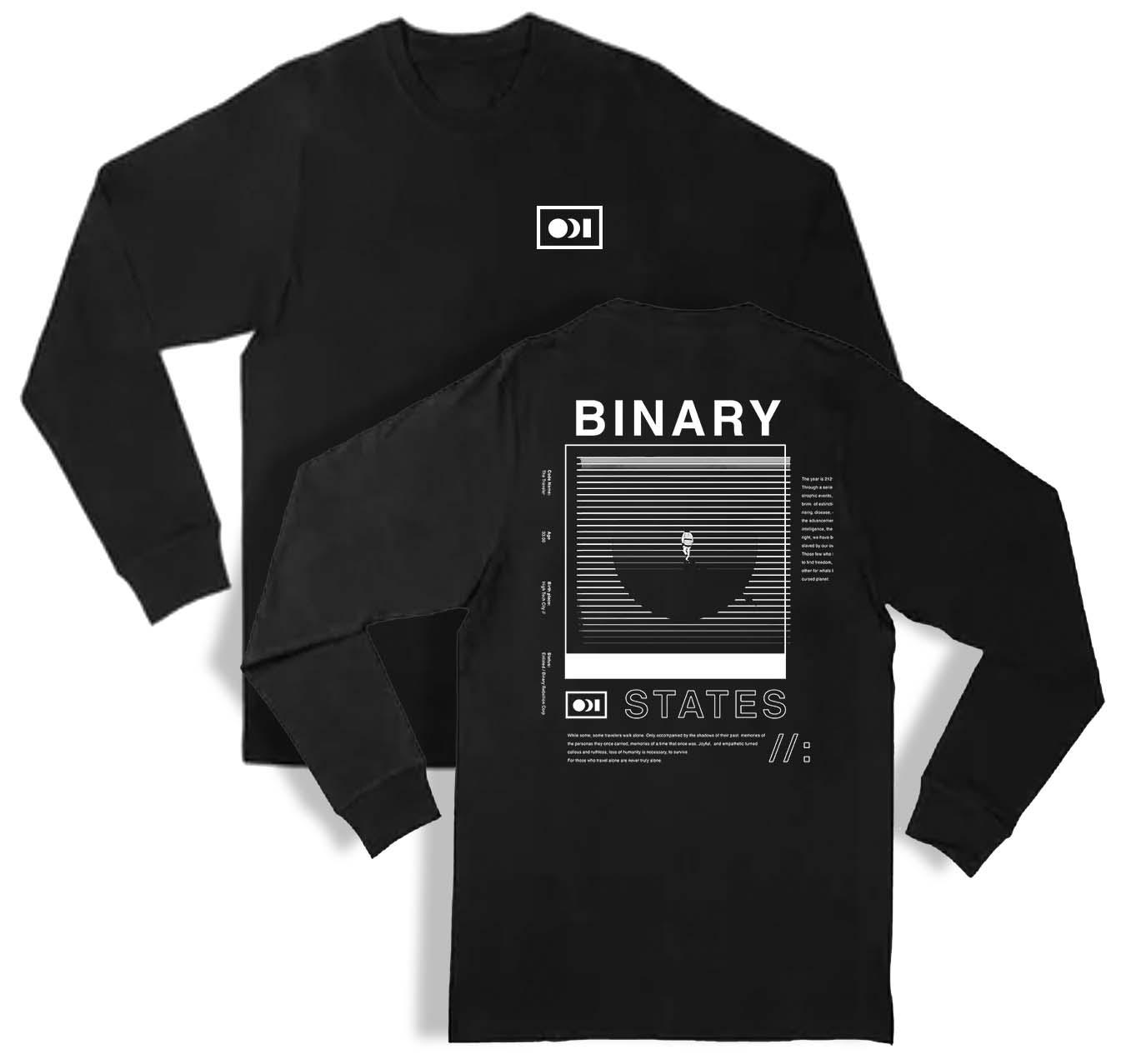 Image of Binary States - Traveler Long Sleeve Crew