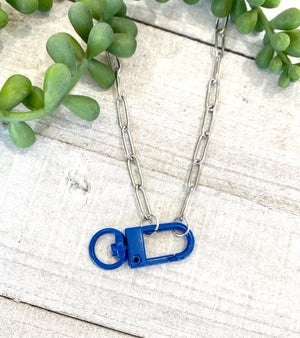 Colorful Carabiner Necklace