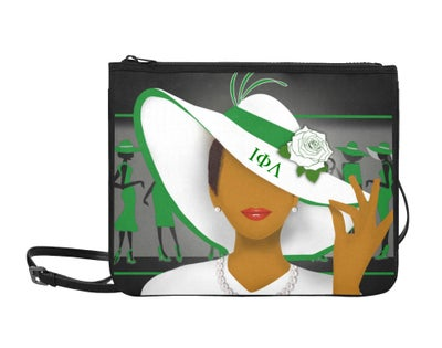 Image of Iota Phi Lambda Clutch
