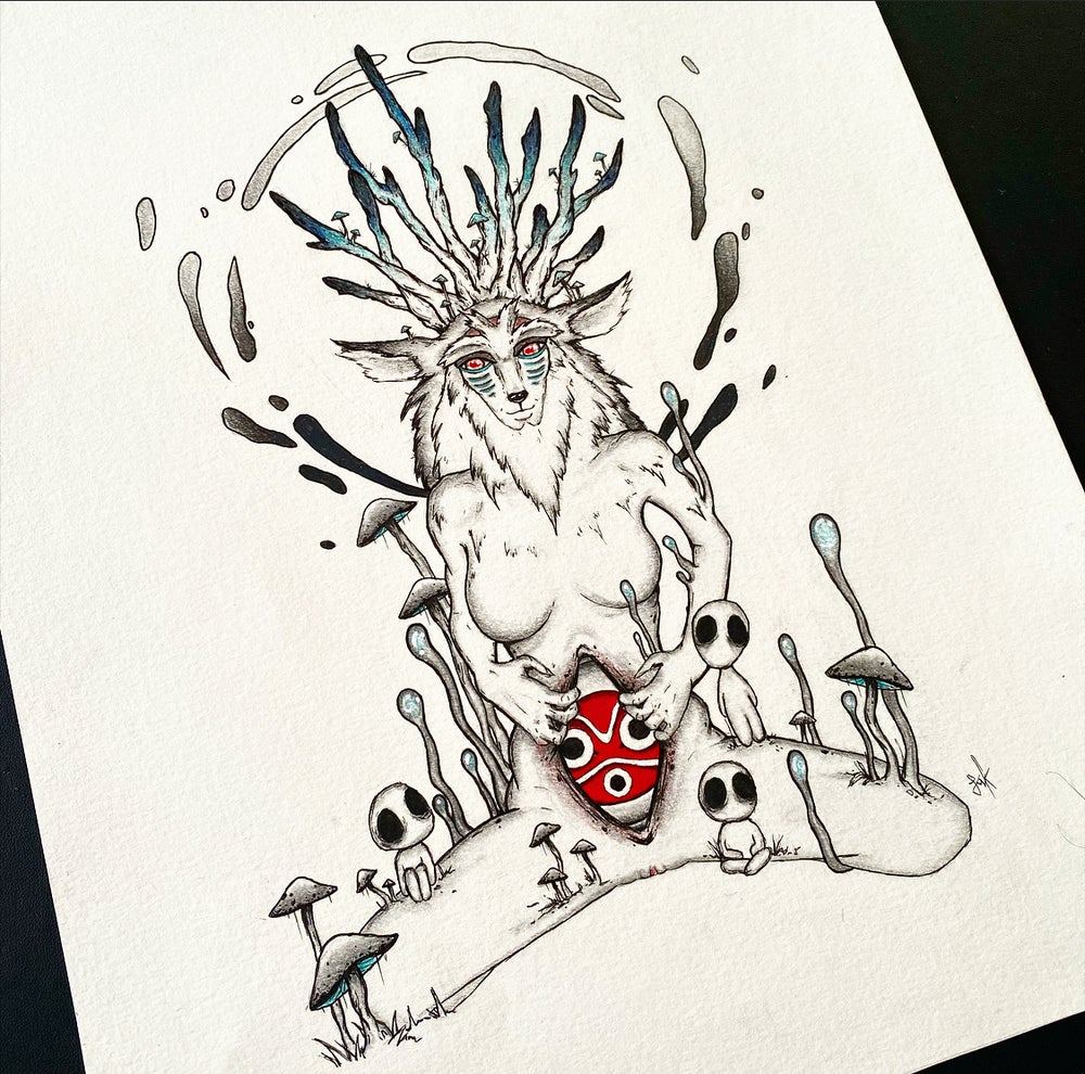 Image of Princess Mononoke- To see with eyes unclouded by hate