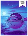 Goodnight Grogu - Night Variant - 11x14 GICLÉE PRINT