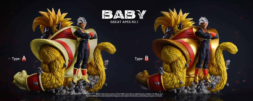 Image of [Pre-Order]Dragon Ball SHK Studio Great APES Series Vol.1 Baby Resin Statue[Ex Version]