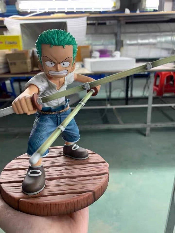 Image of [Pre-Order]One Piece LBWNB Studio Childhood Zoro Resin Statue