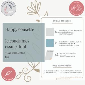 """Image of Happy cousette """"Couds tes essuie-tout"""""""