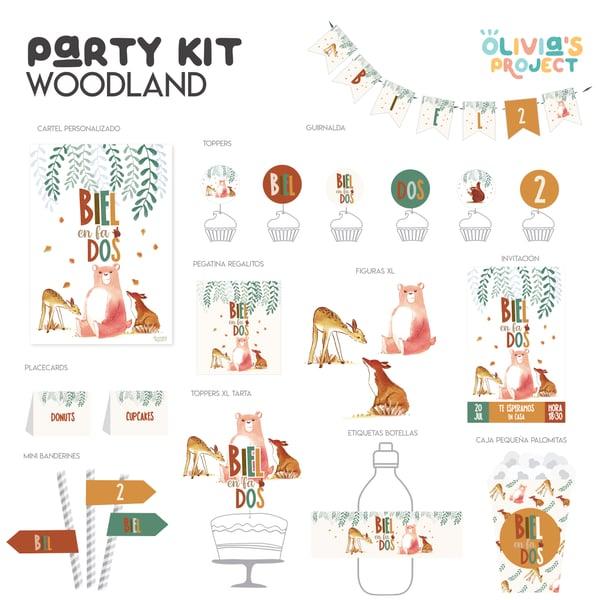 Image of Party Kit Woodland