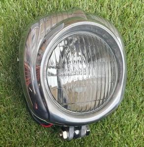 Image of Cast aluminium clear headlight