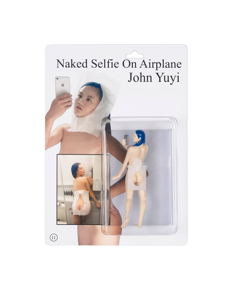 """Image of """"Naked Selfie On Airplane""""            Action Figure"""
