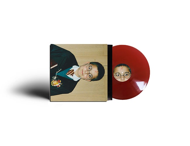 Image of Limited edition 'PCHEW' vinyl // oxblood // hand numbered