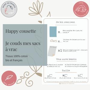 "Image of Happy Cousette ""Couds tes sacs à vrac"""