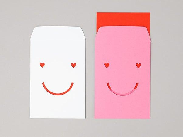 Image of 2 x Heart Happy Post