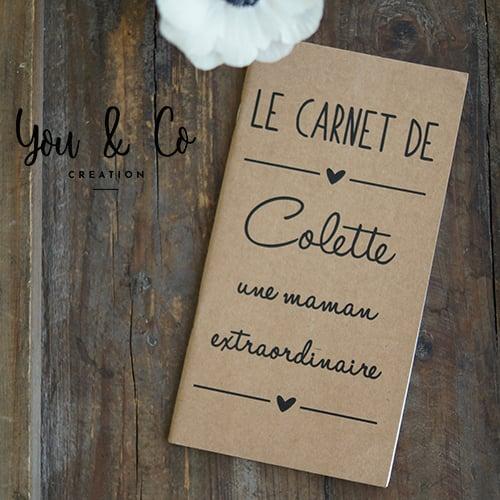 "Image of Carnet de notes personnalisable ""Maman extraordinaire"""