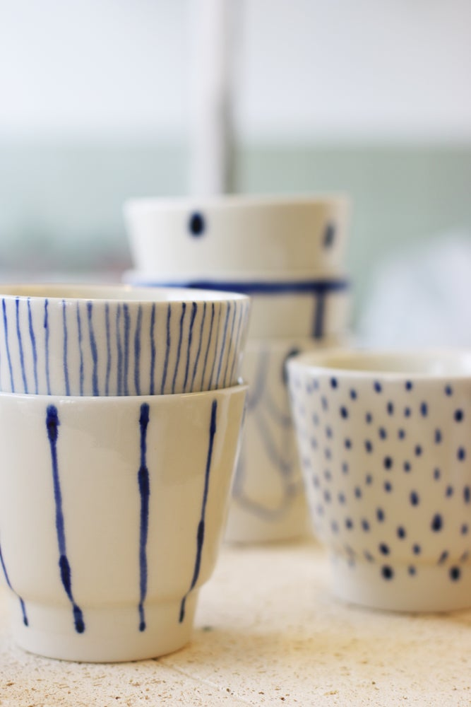 Image of Blue cup 108