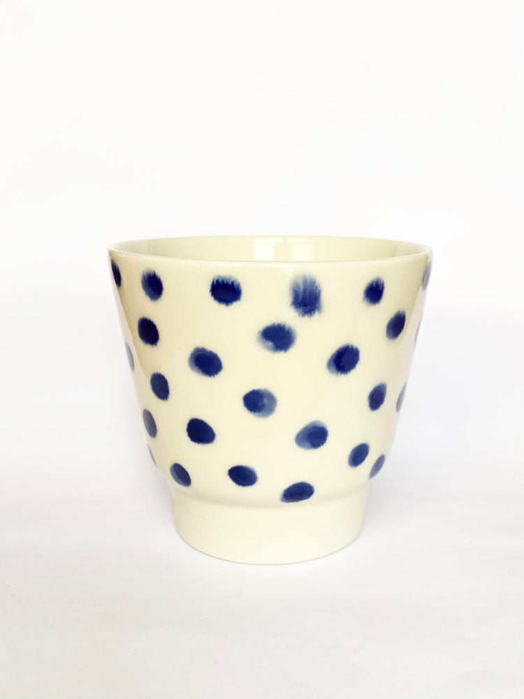 Image of Blue cup 110