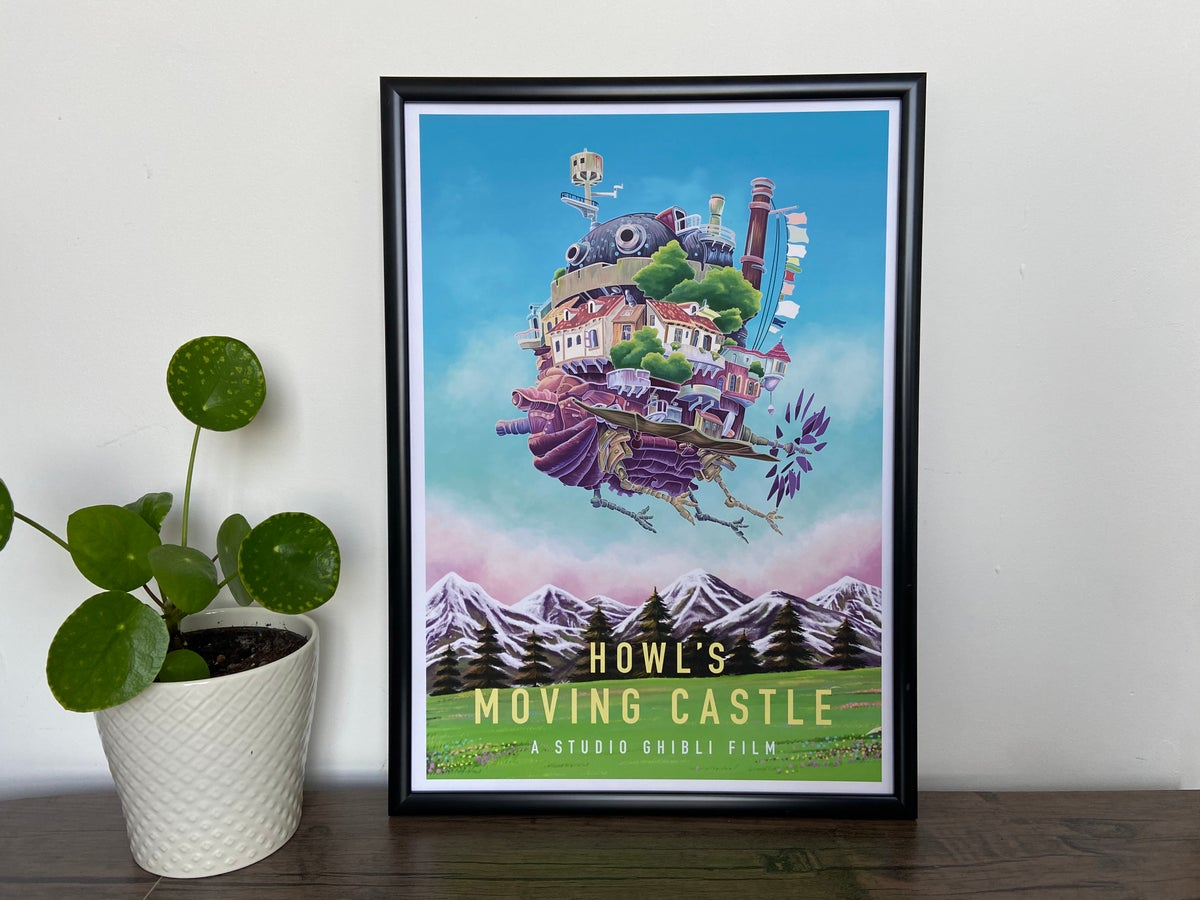 Image of Howl's Moving Castle Film Print