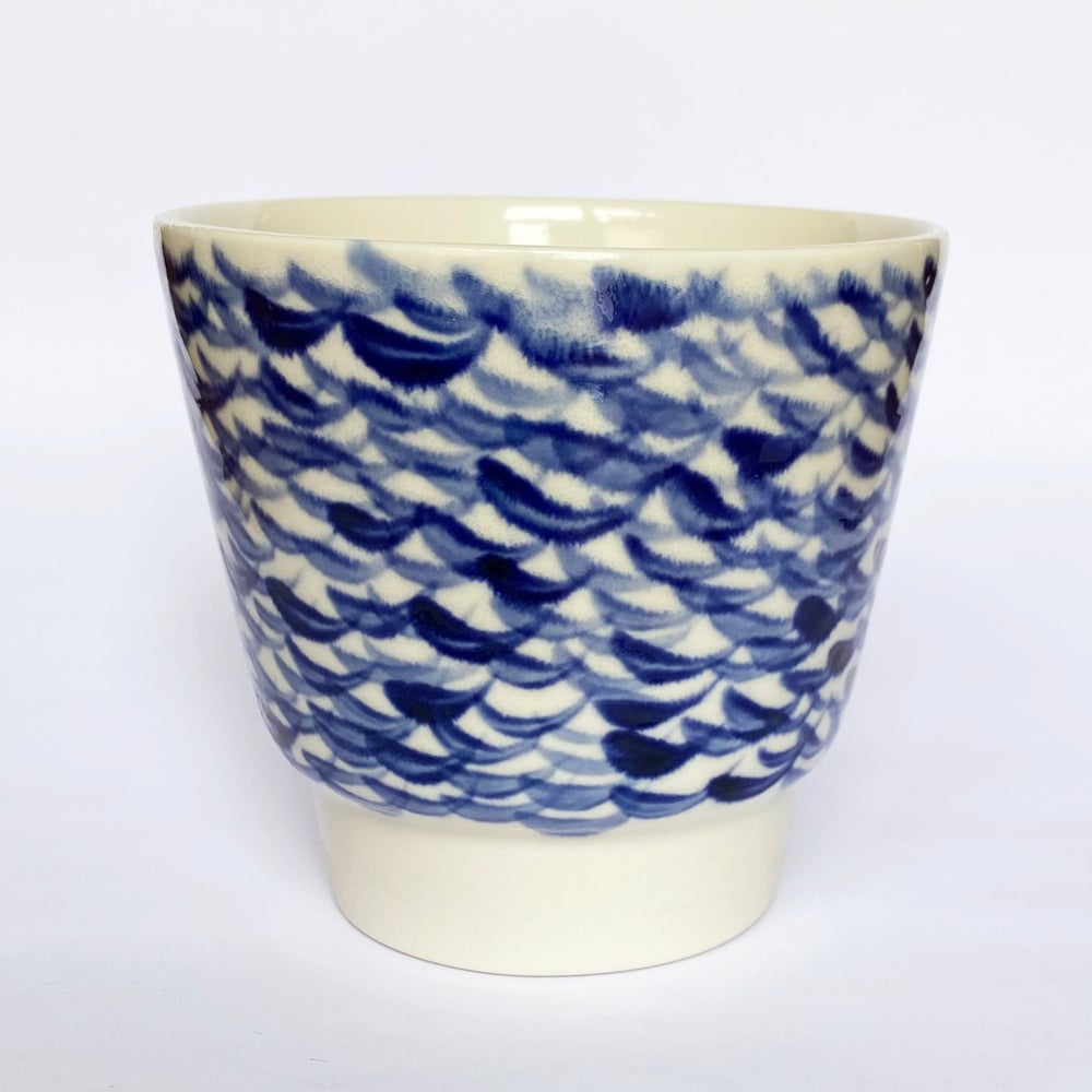 Image of Blue cup 114