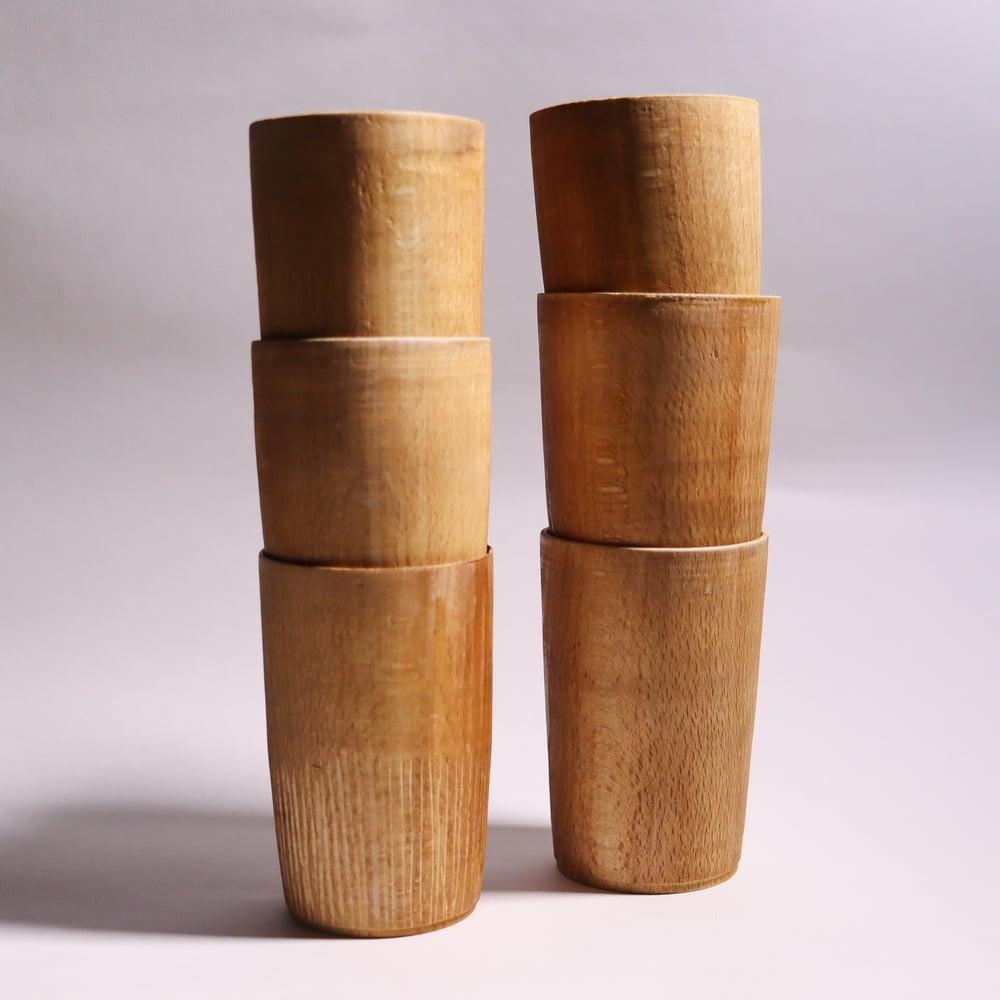 Beech End Grain Cups