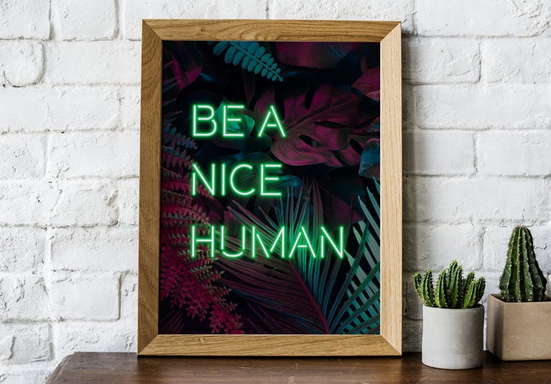 Image of Personalised Neon Poster