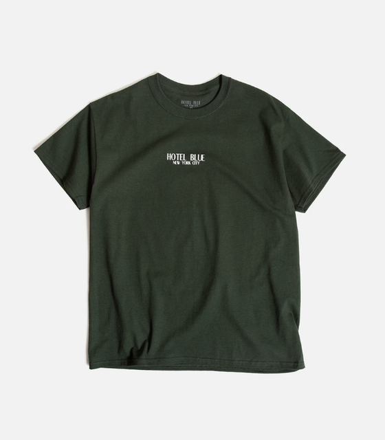 Image of Logo Tee Forest Green