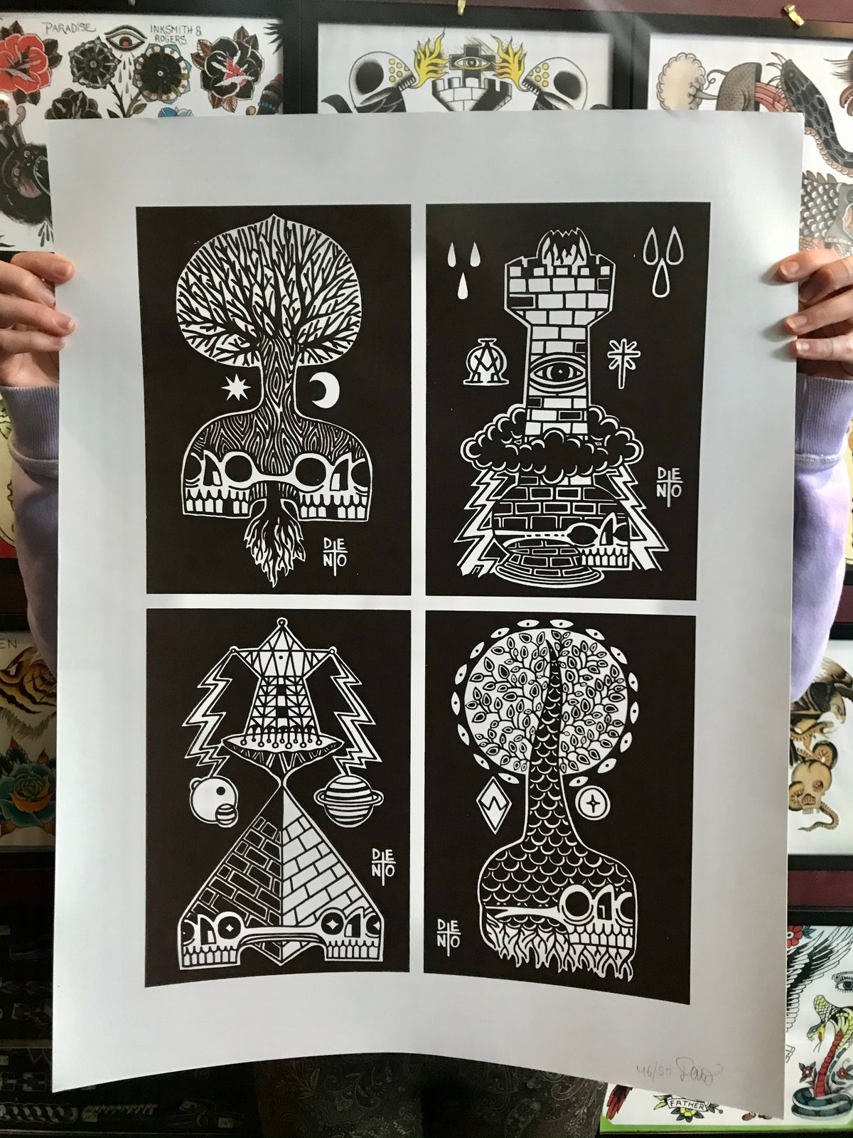 Image of Deno limited prints