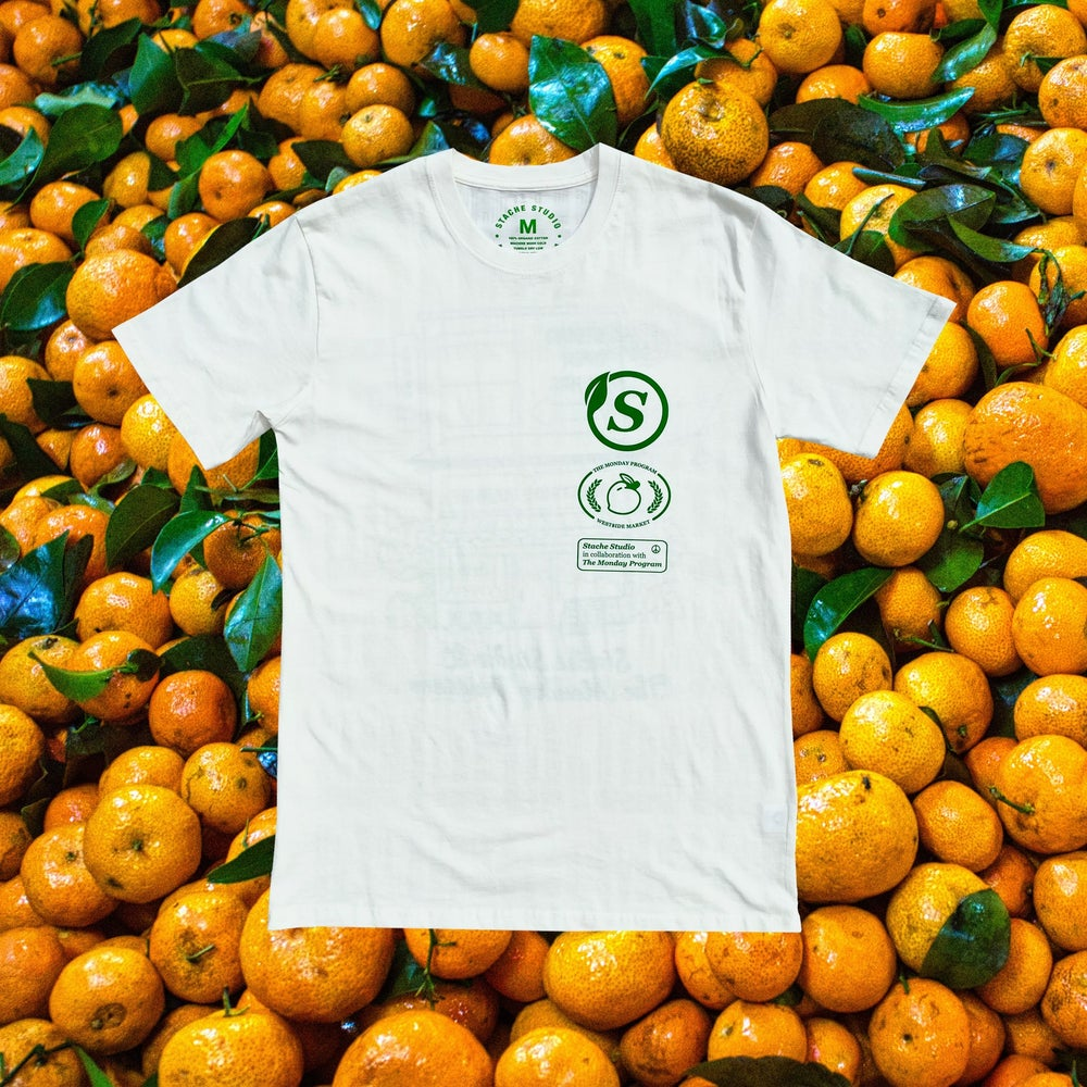 Image of Stache X TMP West$ide Market tee (Pre-order)