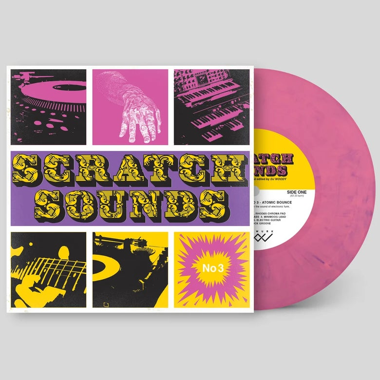 "Image of 7"" Vinyl - Scratch Sounds No. 3 Atomic Bounce (Pink Panther)"