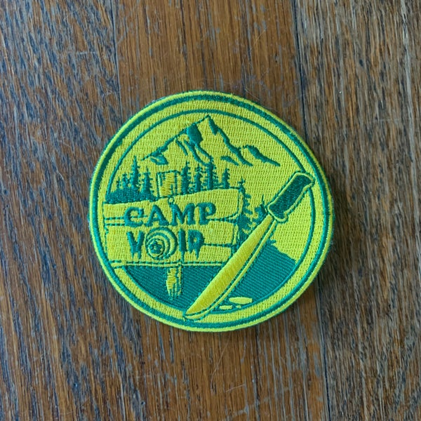 Image of Camp Void Embroidered Patch