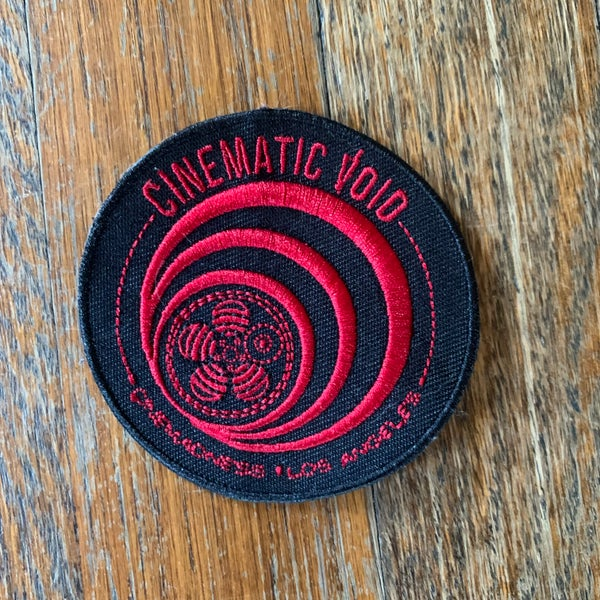 Image of Cinematic Void Logo Embroidered Patch