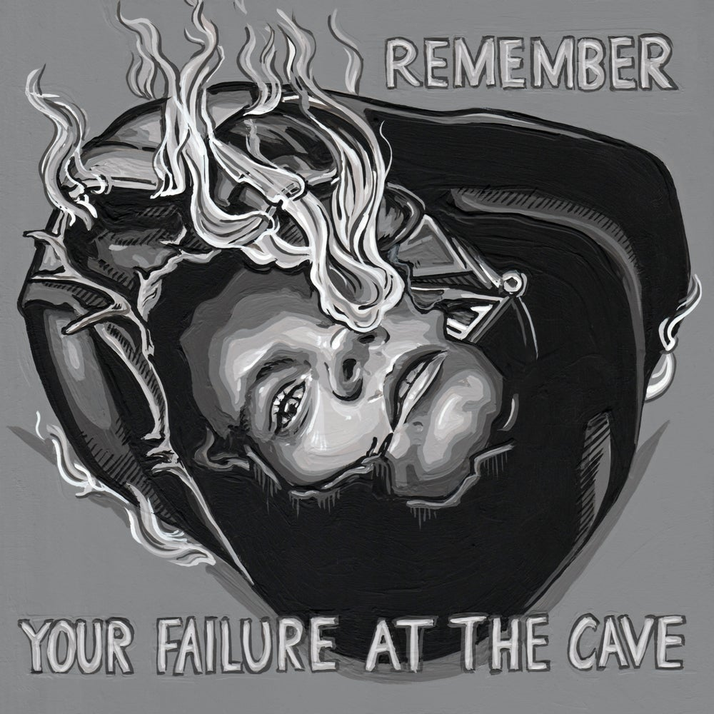 Remember Your Failure at the Cave - Original Painting